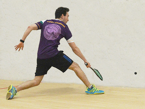 Squash Player in KDRC kit